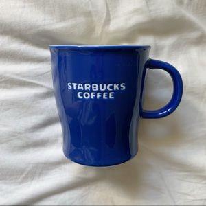 Starbucks Coffee Mug 2009 Indigo Bone China